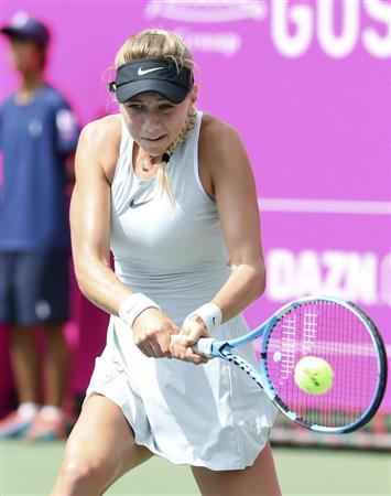 複は穂積、張帥組が優勝 ジャパン女子オープン/テニス