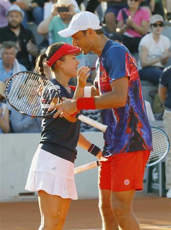 二宮、混合複も初戦敗退「勝つことの難しさが身に染みた」/全仏テニス ...