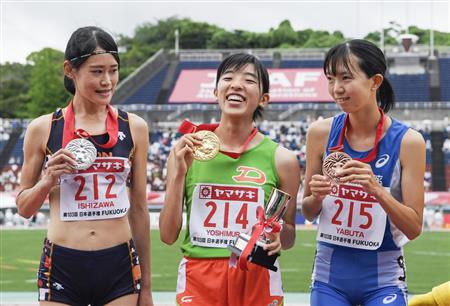 男子400障害安部、女子100障害木村が世陸切符 日本選手権 ...