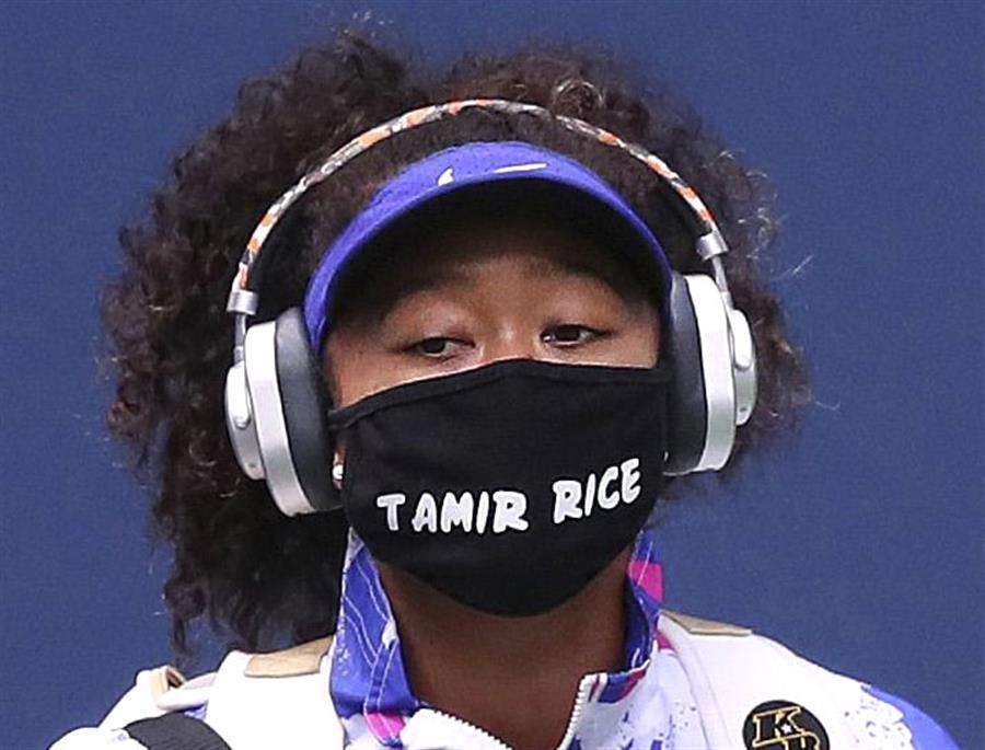 大坂なおみ、7枚目「抗議マスク」は12歳少年 決勝で披露/全米テニス大坂なおみ、7枚目「抗議マスク」は12歳少年 決勝で披露/全米テニス
