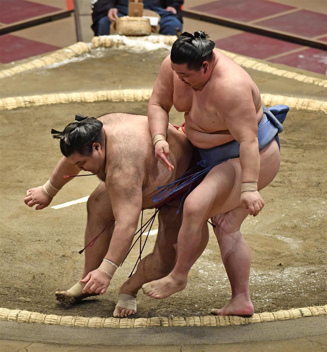 宇良 結果 大相撲 の