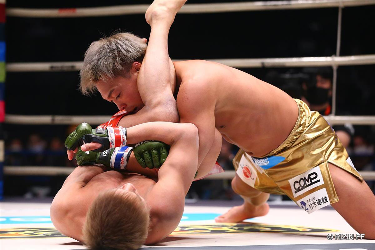太田忍、総合格闘家デビュー戦は一本負け「強くなることだけを考える ...