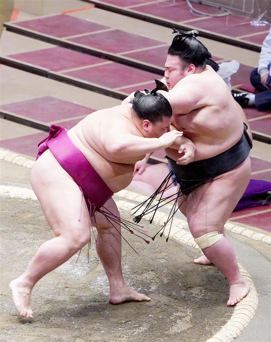 相撲 初 場所 結果