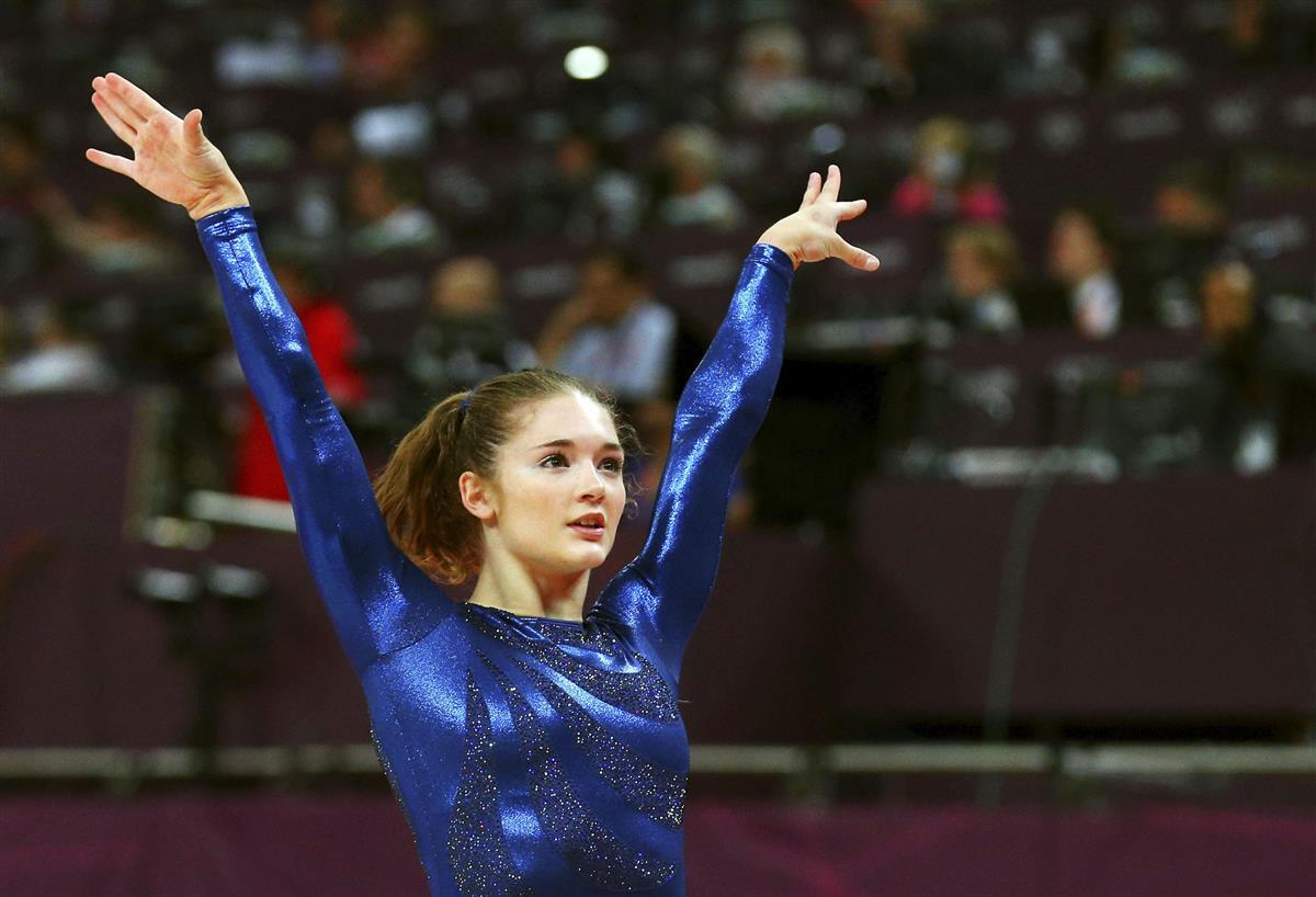 2012年7月、ロンドン五輪の体操女子団体総合決勝…|虐待に揺れる ...